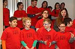 Helen-Keller-Schule brachte zum 10. Mal musikalische Weihnachtsgrüße ins Rathaus