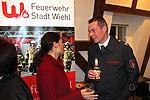 Heimelige Atmosphäre in der Burg Bielstein beim 9. Neubürgerempfang