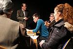 Das Festkomitee im Schau-Spiel-Studio